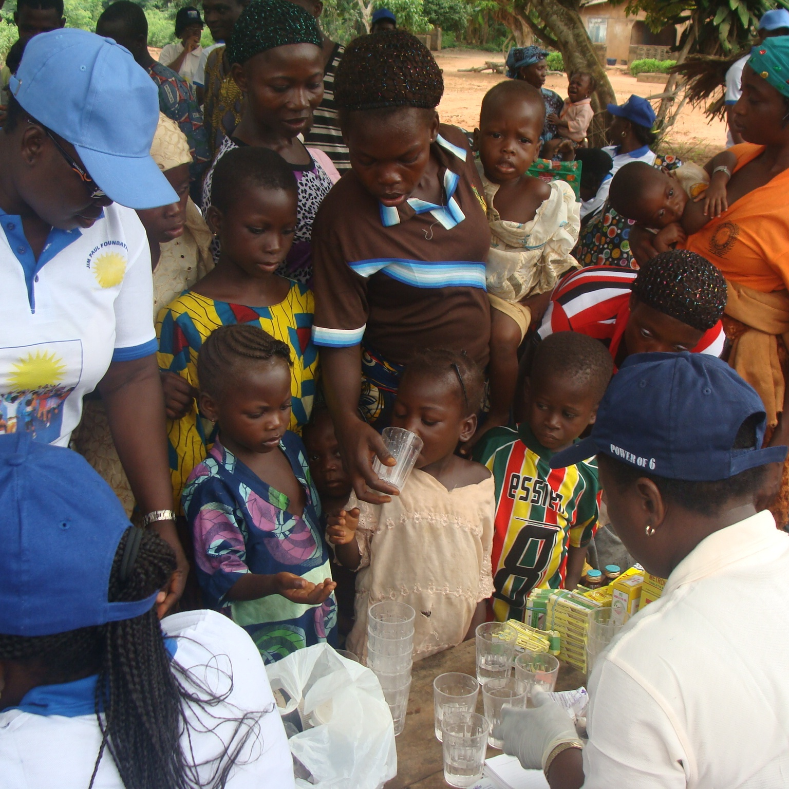 Deworming for children