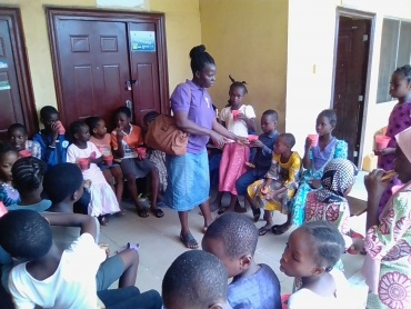 Club meeting 6-12 class At Oshodi Isolo