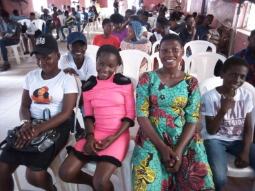 Jim Paul Youth Celebrates World Youth Day with other Youths at LUCIANO Foundation in Collaboration with United Nation Information Center