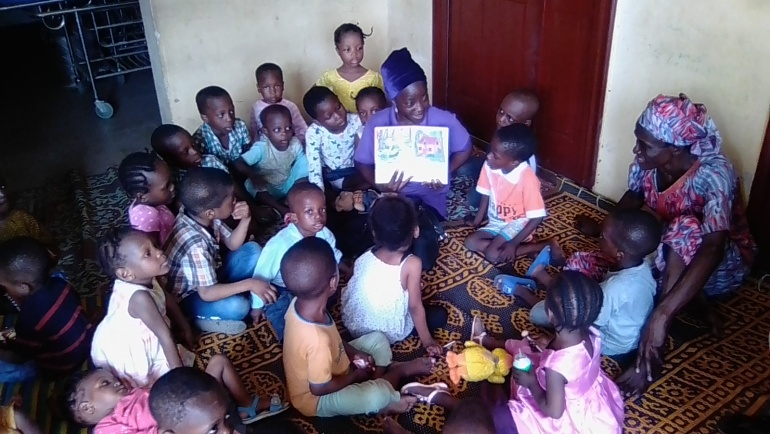 Kids Club Meeting  0-5 Class Oshodi Isolo