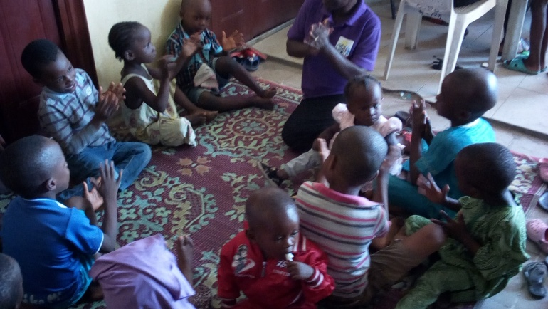 Kids Club meeting Oshodi Isolo site