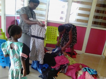 Provision of clothing for vulnerable Children in Jim Paul Generation Next Initiative